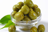Green Olives — Stock Photo