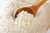 Pile of wheat flour — Stock Photo