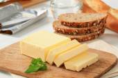 Block of fresh butter  — Stock Photo