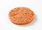 Fresh burger patty — Stock Photo