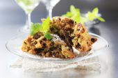Dried fruit cookies — Stock Photo