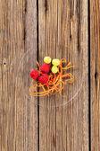 Fruit garnish — Stock Photo
