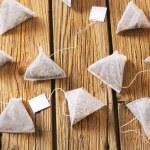 Pyramid tea bags — Stock Photo #70853187
