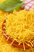 Dried egg noodles — Stock Photo