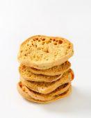 意大利两次烤面包卷 — 图库照片