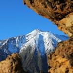 Snow-capped peak of Mount Teide — Stock Photo #78922646