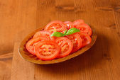 Tomato slices — Stock Photo