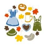 Vector oktoberfest elements — Stock Vector #53518229