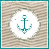 Vector Nautical Background — Stock Vector