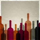 Víno vektorové pozadí — Stock vektor