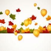 Vector Autumn Leaves — Stock Vector