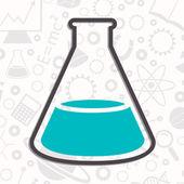 Nauka tło wektor — Wektor stockowy