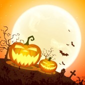 Vector design di halloween — Vettoriale Stock