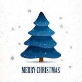Vector Christmas Tree — Stock Vector