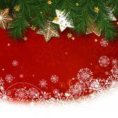 Vector Christmas Greeting Card — ストックベクタ