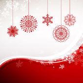 Vector Christmas Greeting Card — Stock Vector