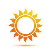Vector Sun Icon — Stock Vector
