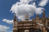 собор севильи--собор святой марии из см, андалусия, испания — Стоковое фото