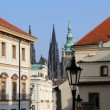 St. Vitus Cathedral (Roman Catholic cathedral ) in Prague Castle and Hradcany, Czech Republic — Stock Photo #59235175