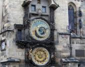 Astronomical clock in Prague, Czech republic — 图库照片