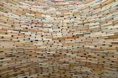 Very large stack of books, can be used as background — Stockfoto