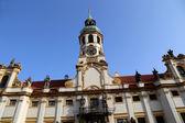 Loreta -- a large pilgrimage destination in Hradcany, a district of Prague, Czech Republic — 图库照片