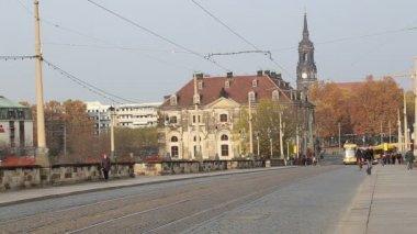 Historical center of Dresden (landmarks), Germany — Stock Video
