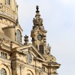 Dresden Frauenkirche ( literally Church of Our Lady) is a Lutheran church in Dresden, Germany — Stock Photo #61179847
