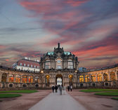 Zwinger Palace (Der Dresdner Zwinger) in Dresden, Germany — Stock Photo