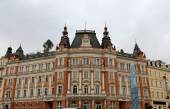 Karlovy Vary (Carlsbad) -- famous spa city in western Bohemia, very popular tourist destination in Czech Republic — Стоковое фото