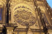 Cathédrale Saint-Vitus (cathédrale catholique) au château de Prague, République tchèque — Photo