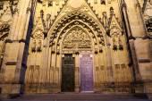 St. Vitus Katedrali (Roma Katolik Katedrali) Prag, Çek Cumhuriyeti — Stok fotoğraf