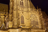 St. Vitus Cathedral (Roman Catholic cathedral ) in Prague Castle, Czech Republic — ストック写真