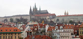 St. Vitus Cathedral (Roman Catholic cathedral ) in Prague Castle, Czech Republic — Stockfoto
