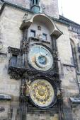 Astronomical clock in Prague, Czech republic — Stock Photo