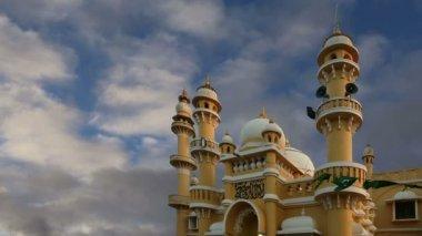 Moschea musulmana (arabo), kovalam, kerala, india del sud — Video Stock