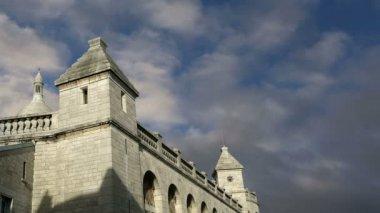 Базилика Святого сердца, Париж, Франция — Стоковое видео