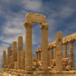 Ancient Greek Temple of Juno (V-VI century BC), Valley of the Temples, Agrigento, Sicily. — Stock Video #62043113
