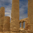 Ancient Greek Temple of Juno (V-VI century BC), Valley of the Temples, Agrigento, Sicily. — Stock Video #62044049