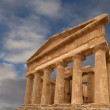 Ancient Greek temple of Concordia (V-VI century BC), Valley of the Temples, Agrigento, Sicily — Stock Video #62049585