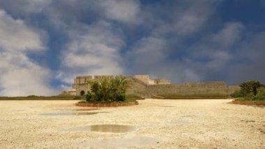 Château syracuse. sicile, italie. château de frédéric ii (château maniace)-patrimoine mondial de l'unesco — Vidéo