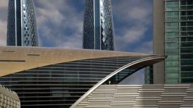 Dubai Metro, United Arab Emirates  (time lapse) — Wideo stockowe