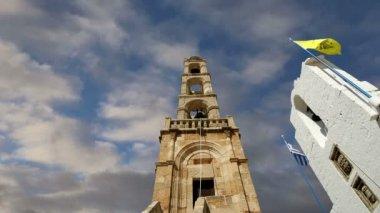 Kostel Lindu, město na ostrově Rhodos, Řecko — Stock video