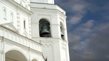 Ivan the Great Bell. Moscow Kremlin, Russia. UNESCO World Heritage Site — Stock Video