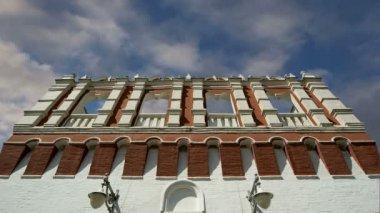 Kutafia (bridgehead) tower, Moscow Kremlin,  Russia — Stock Video