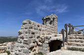 The ayyubid castle of Ajloun in northern Jordan, built in the 12th century, Middle East — Стоковое фото