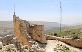 The ayyubid castle of Ajloun in northern Jordan, built in the 12th century, Middle East — Stock Photo