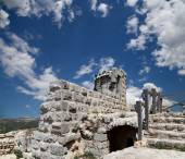 The ayyubid castle of Ajloun in northern Jordan, built in the 12th century, Middle East — Stockfoto