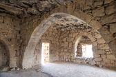 Ruins of Azraq Castle,  central-eastern Jordan, 100 km east of Amman — Stock Photo