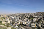View of Amman's skyline, Jordan, Middle East — Stock Photo